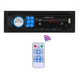 Reproductor Mp3 1 Din Con Bluetooth Y Auxiliar Para Auto