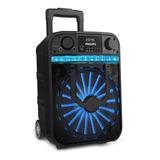 Parlante Philips Bass+ Tanx20 Portátil Con Bluetooth  Negro 100v/240v