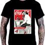 Camiseta Camisa Poster Retro Vintage Coca Cola Pin Up I94 Original