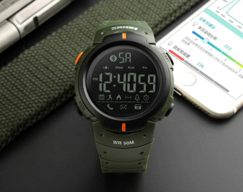 Reloj Skmei Bluetooth 1301 Regalo Perfecto Para Hombre