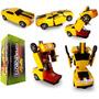 Carrinho Camaro Transformers Vira Robô Luz Som Bate Volta F Original