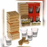 Drunken Tower Jenga Shots Juegos Drinking En Español