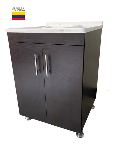 Combo Lavadero Plastico, Mueble 60x60cm(fregadero Y Posuelo)
