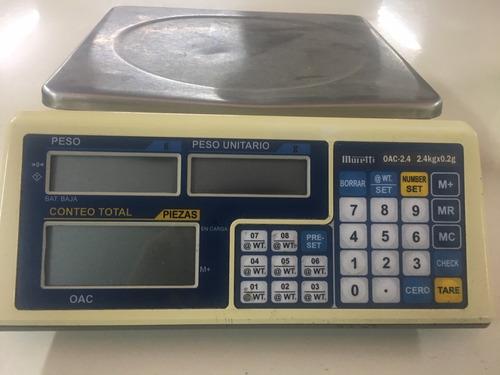 Balanza De Precisión Moretti 2,4 Kg