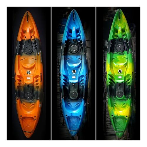 Kayak Doble (2+1) Strobel Max Garantia 5 Años Ind Uruguaya