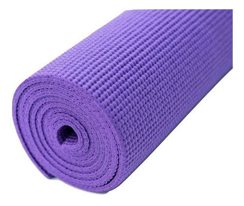 Colchoneta Mat Yoga Pilates Enrollable Premium 6 Mm