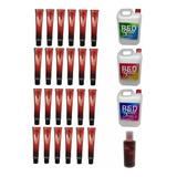 Tintura Color Master 24u+crema Oxi Vol 20 30 40+quitamancha