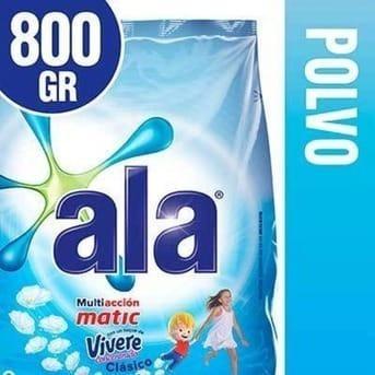 Ala Jabon Polvo Toque Vivere 800 Gr