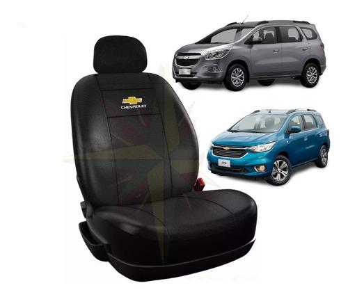 Funda Cubre Asiento Chevrolet Spin 7 Asientos Cuero Ecológic
