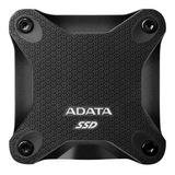 Disco Sólido Externo Adata Asd600q-480gu31-c 480gb Black