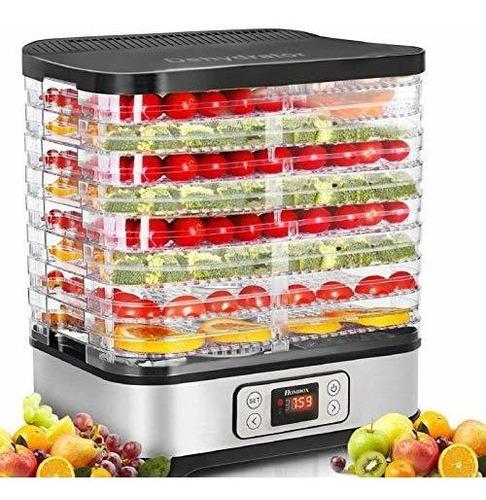 Máquina Deshidratadora De Alimentos, Temporizador Digital Y