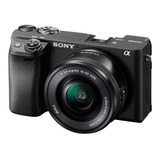 Camara Digital Mirrorless Sony A6400 4k Wifi Sel1650