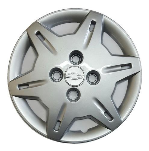 Juego 4 Tazas De Rueda Chevrolet Corsa 6 Rayos Rodado 13