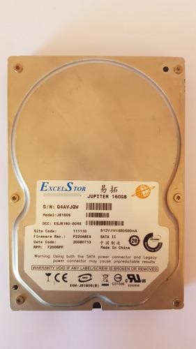 Disco Duro De 160 Gb Excelstor Jupiter Sata 3,5 Pc
