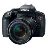 Canon Eos Rebel T7i Dslr Color  Negro