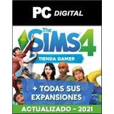 Los Sims 4 Pc En Español + Todas Sus Expansiones - Digital