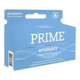 Preservativos Prime Caja X 12 Un. Retardante Envio Discreto!
