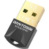 Adaptador Usb Bluetooth V5.0 + Edr Bt5pro Pc O Notebook I7