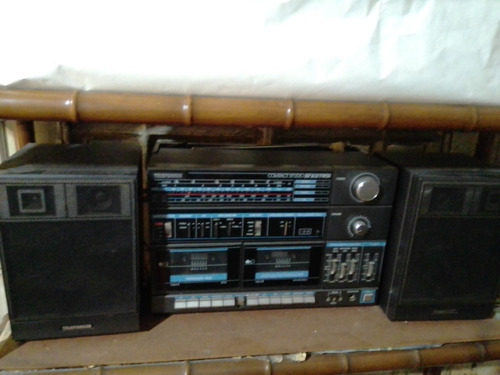 Equipo Música Telefunken Compact Studio Cassetera Parlantes