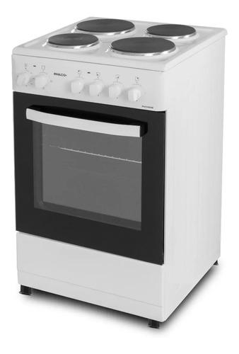 Cocina Eléctrica Hotplace Philco Phch050b 4 Hornallas Visor