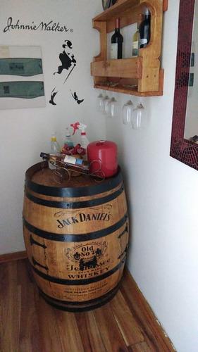 Barril Bar Con Logo Jacks Danield Oferta!!!