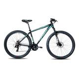 Mountain Bike Topmega Sunshine R29 L 21v Frenos De Disco Mecánico Cambios Shimano Tourney Tz31 Y Shimano Tourney Color Celeste
