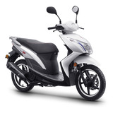Motocicleta Lifan Tb125 Color Blanco