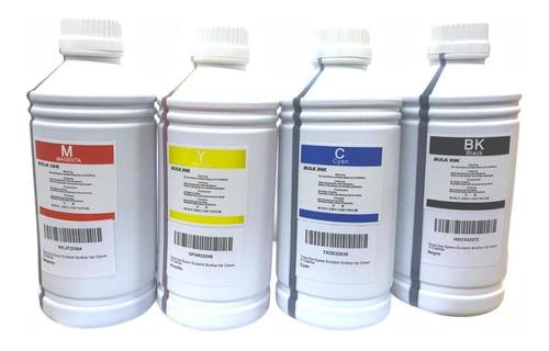 Pack De 4 Litros De Tinta Dye Premium Universal