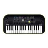 Teclado Musical Casio Mini Sa-46 32 Teclas Negro/verde
