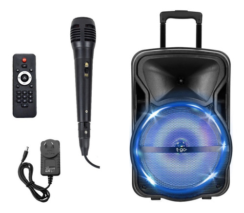 Parlante Portatil Bluetooth 12 Pulgadas Fm Micrófono +cuotas