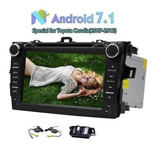 Doble Din Car Reproductor De Dvd Android 7.1 Auto Estéreo 2