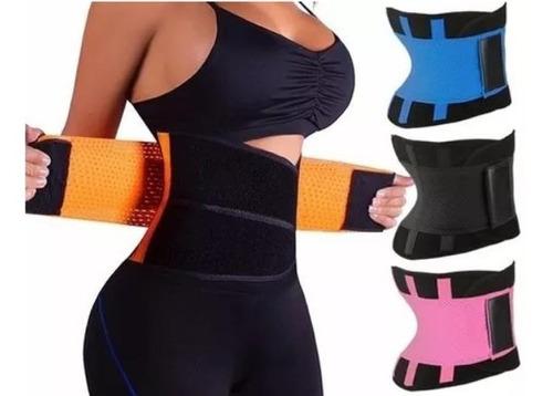 Fajas Moldeadora Gym Reductoras Hombre Mujer Entrenamiento