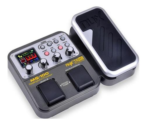 Nux Mg-100 Procesador Multiefectos Guitarra Elec Pedalera