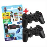 Pendrive Arcade 32 Gb + 2 Joystick Usb + Envío Gratis