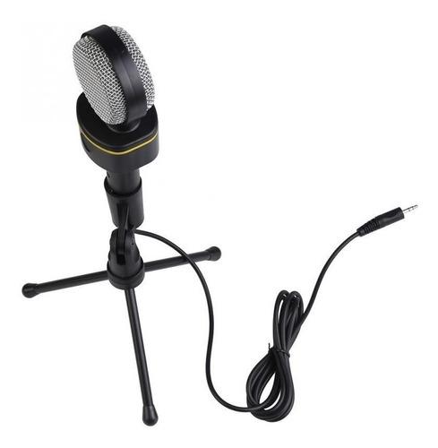 Microfono Con Condensador De Estudio Con Trípode Profesional