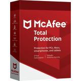 Mcafee Total Protection 2 Dispositivos Por 2 Años