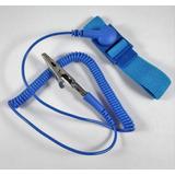 Pulsera Anti-estática Con Cable Ajustable Leko Electrónica