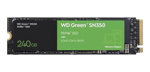 Disco Solido Ssd M2 Nvme 240gb Western Digital Green Sn350