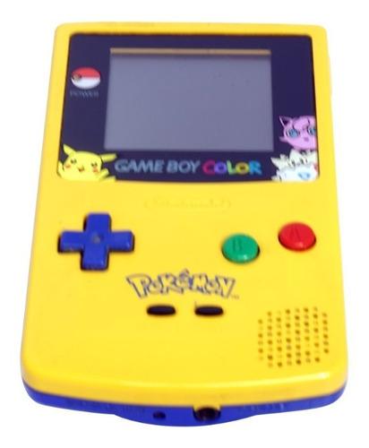 Consola Game Boy Color - Edicion Pokémon Yellow Original
