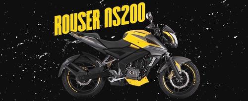 Bajaj Rouser  Ns 200 0km Sin Interés Ahora 12 Pune Motos