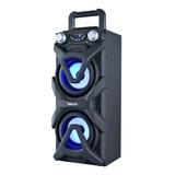 Parlante Portatil Philco Djp10 Bluetooth Radio Fm Luces Led