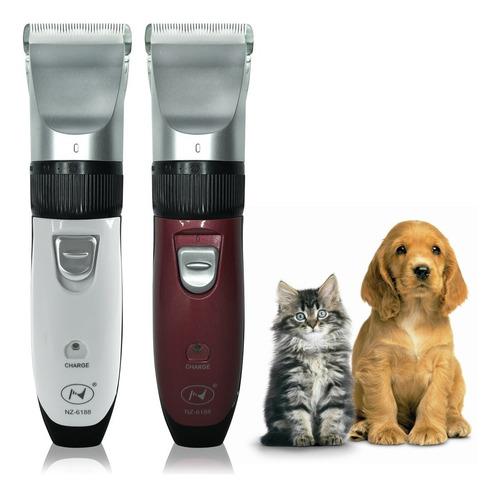 Maquina Para Tosa Pet Recarregável Cães Gatos Pet Sem Fio