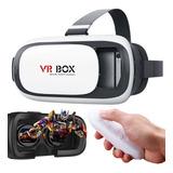 Anteojos Gafas De Realidad Virtual Vr Con Control Remoto 360