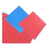Piso Goma Color 1mx1mx2cm Encastrable Multiproposito Grueso