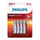 Pila Aaa Philips Alcalina Blister Por 4 Unidades