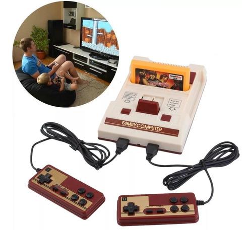 Consola Family Game Original + 120 Juegos (los Mejores) Mario Bros Tetris Nes Tv Led Retro N°1 + Cuotas Shox Palermo