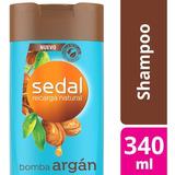 Shampoo Sedal Bomba Argán 340ml