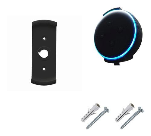 Suporte De Parede Amazon Alexa 3ªger - Echo Dot + Parafusos