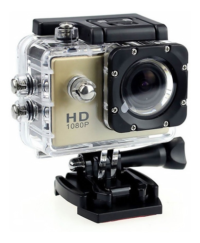 Camara Fotografica Video Deportiva Impermeable Tipo Hd 1080p