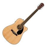 Guitarra Electroacústica Fender  Classic Design Cd-60sce Natural